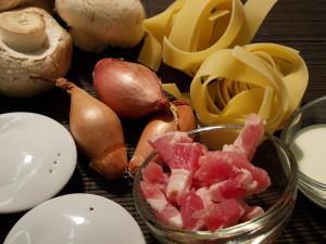 Ingrédients Carbonara
