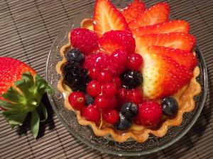Tartelette fruits rouges et citron