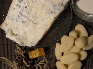 Ingrédients gnocchi Gorgonzola