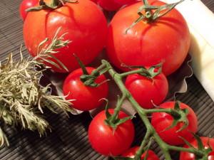 Ingrédients tartelettes aux tomates