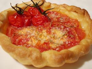 Tartelettes aux tomates